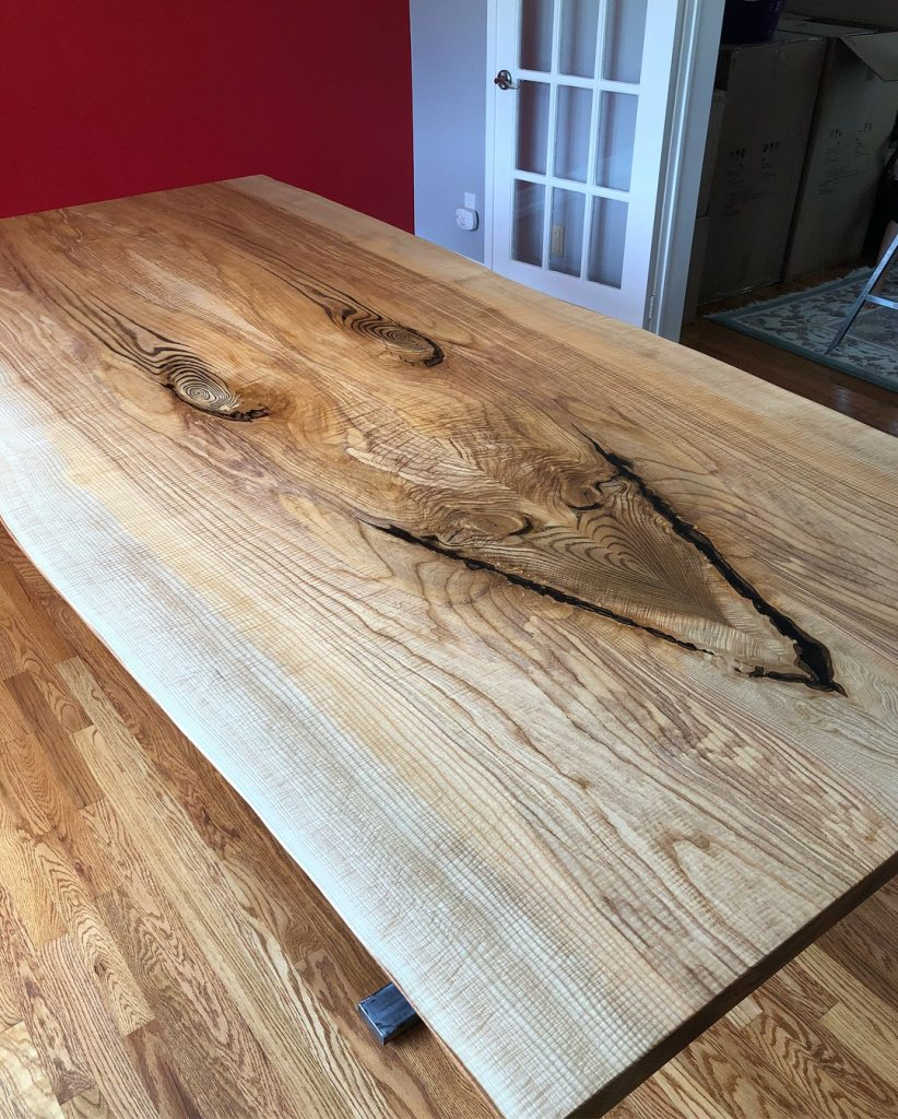 Live Edge Ash Table
