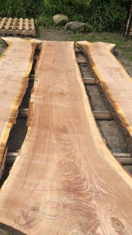 Live Edge Cherry Wood Slab