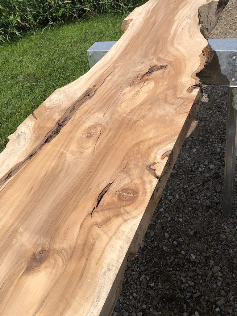 Live Edge Sugar Maple Wood Slab
