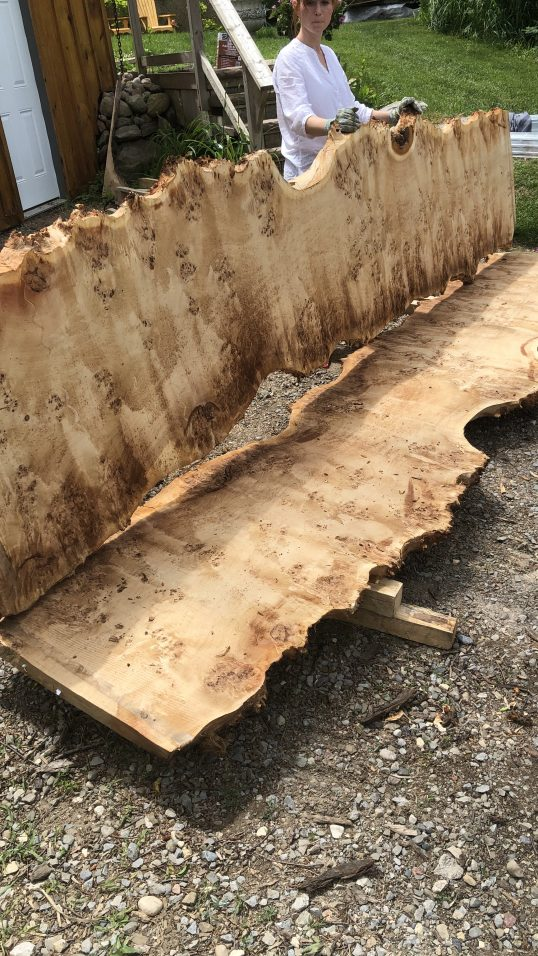 Mappa Burl Wood Slab